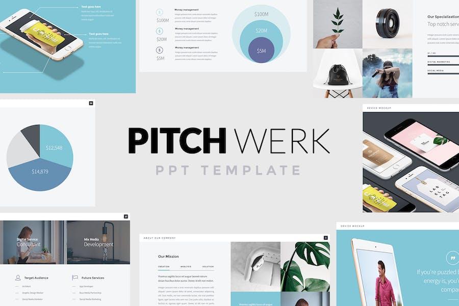 Pitch Werk - Elegant Powerpoint Pitch Deck