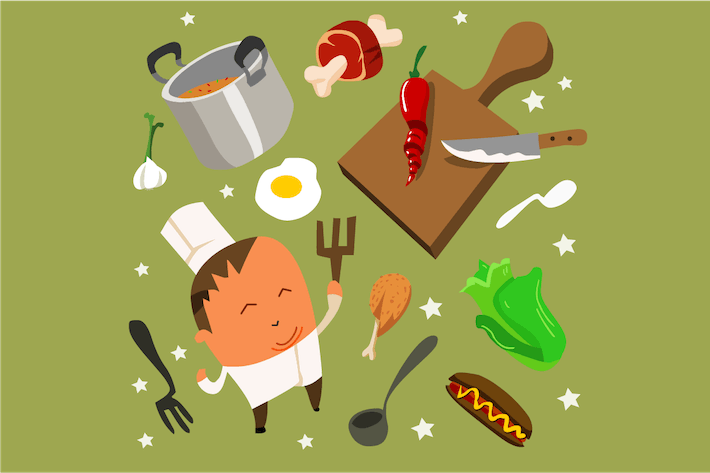 Thumbnail for cooking set flat.