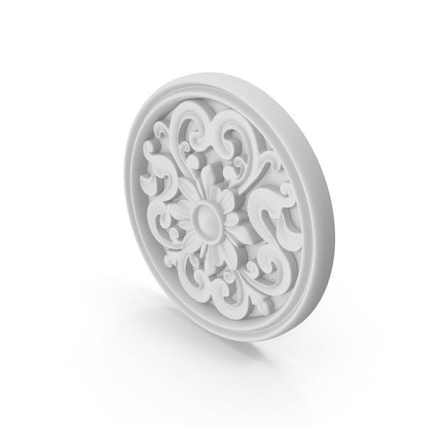 Декоративный медальон