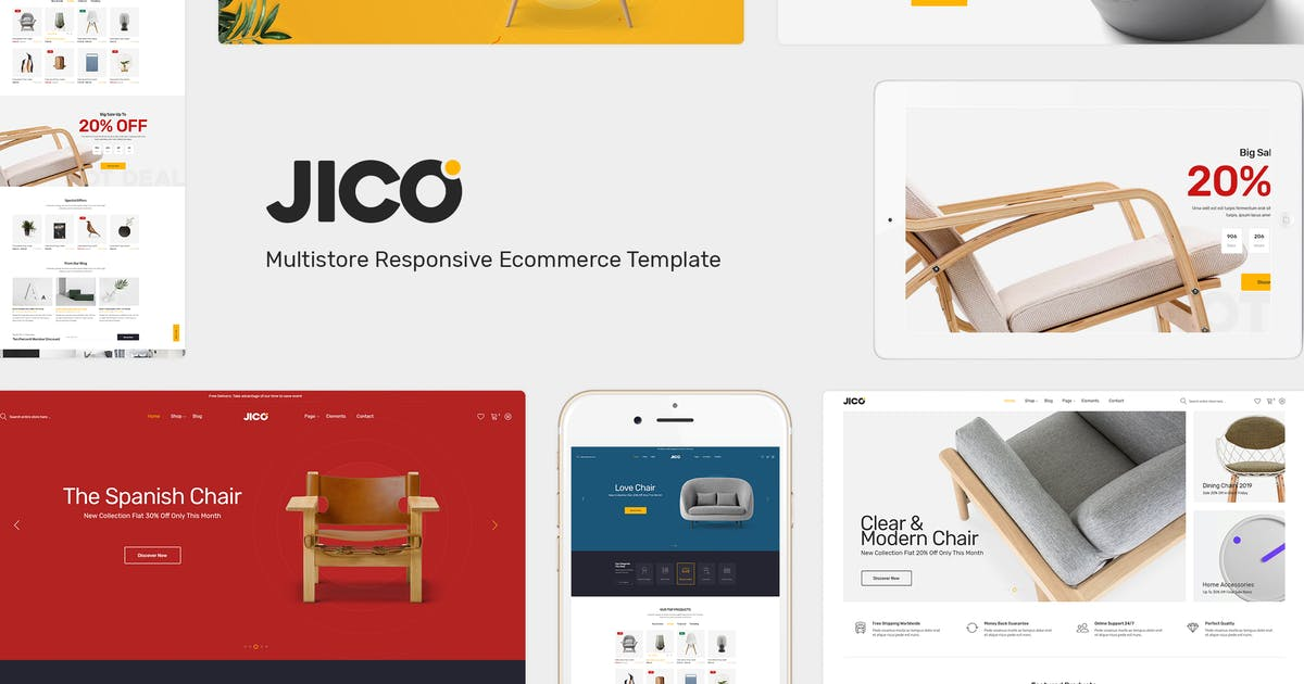 Download Jico - Furniture Responsive Prestashop Theme by posthemes
