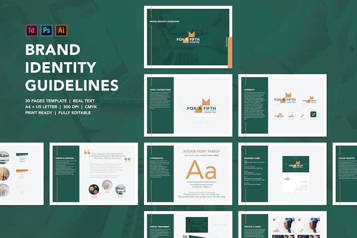 Thumbnail for Modèle de lignes directrices sur l'indentité de marque