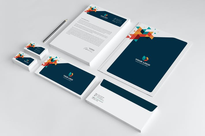 Thumbnail for Business Stationery Template 27