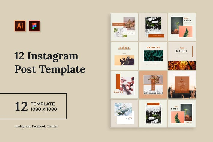 Thumbnail for Sanstemp - Minimalist Instagram Post vol 5.0