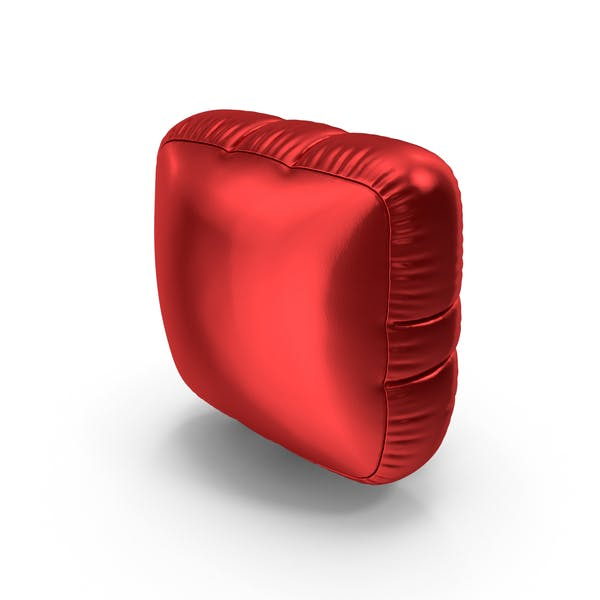 Thumbnail for Foil Balloon Period Red