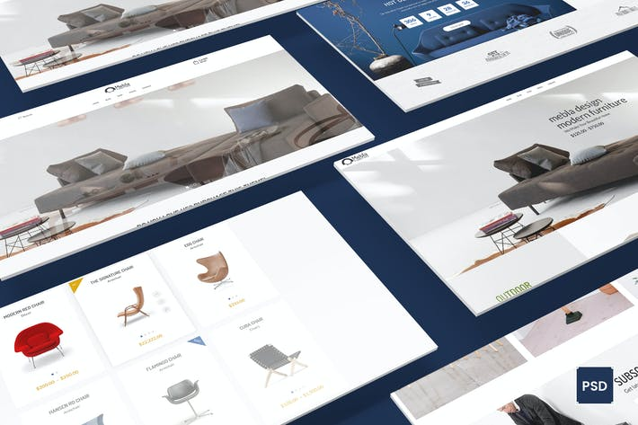 Thumbnail for Umbra - Multi Concept eCommerce PSD Template