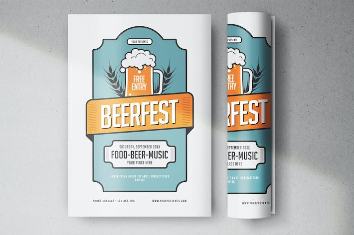 Cover Image For Beerfest Flyer