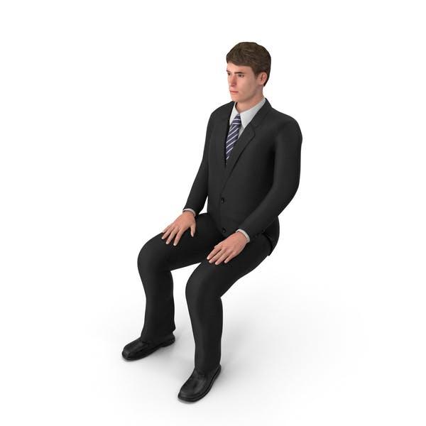 Thumbnail for Businessman John Sitting