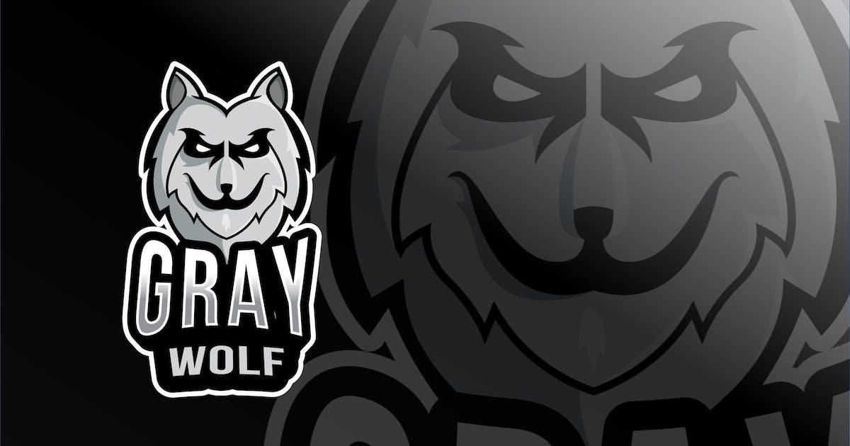Download Gray Wolf Esport Logo Template by IanMikraz
