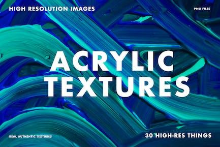Acryl Texturen Bündel