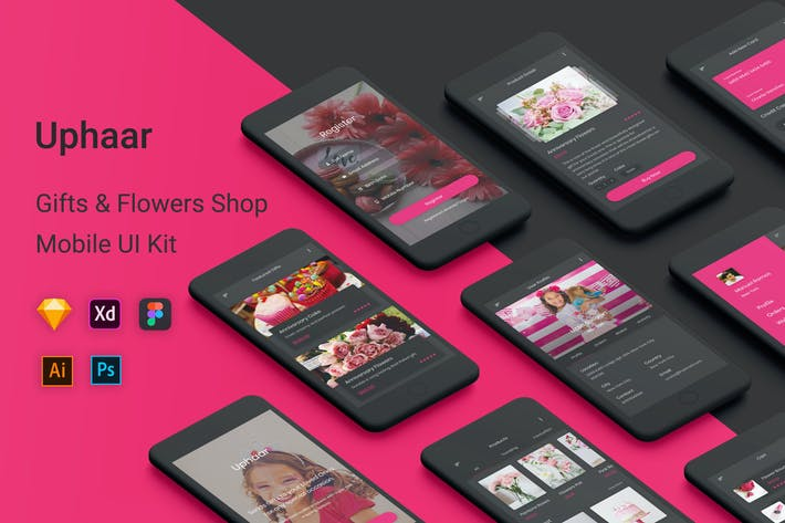 Thumbnail for Uphaar - Gifts & Flowers Shop UI Kit