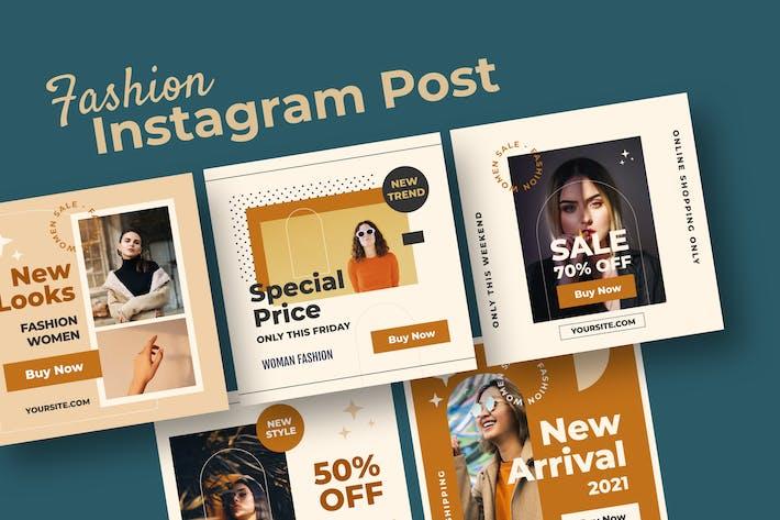 Modern Aesthetic Fashion Social Media Post