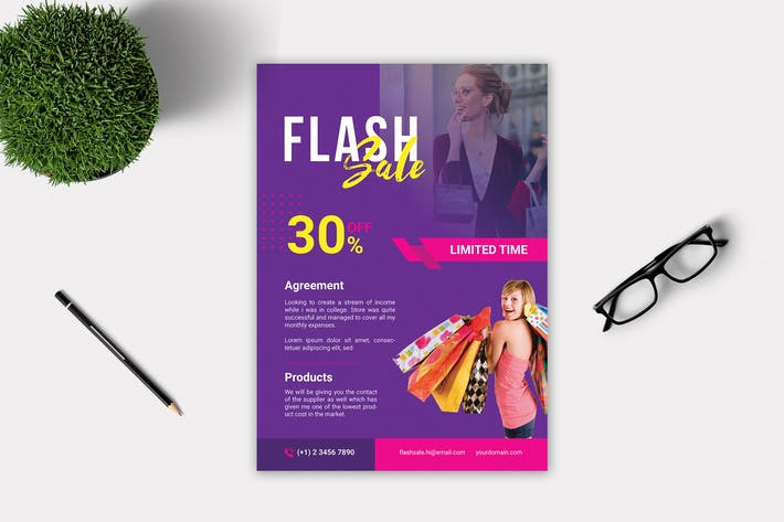 Thumbnail for Flash Sale Flyer