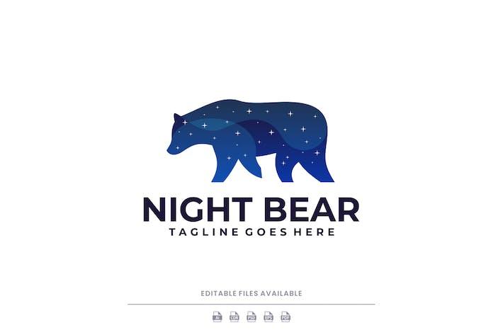 Logo en dégradé de l'ours