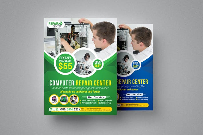 Thumbnail for Computer Repair Flyer