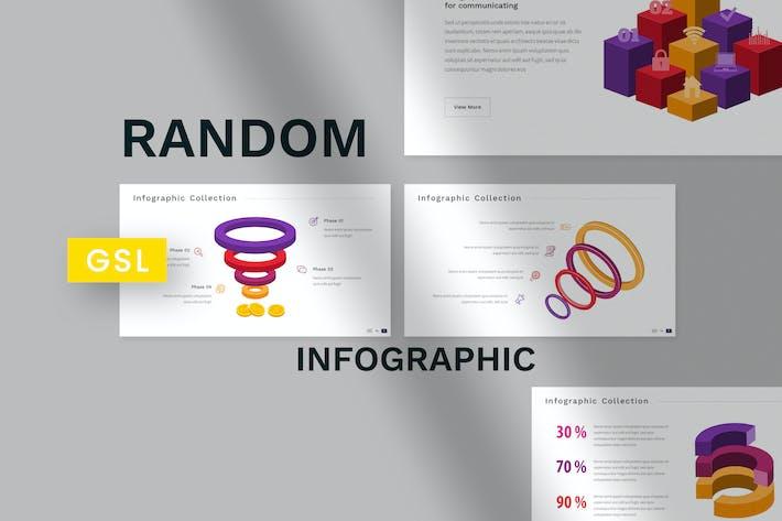 Random Infographic Google Slides Template