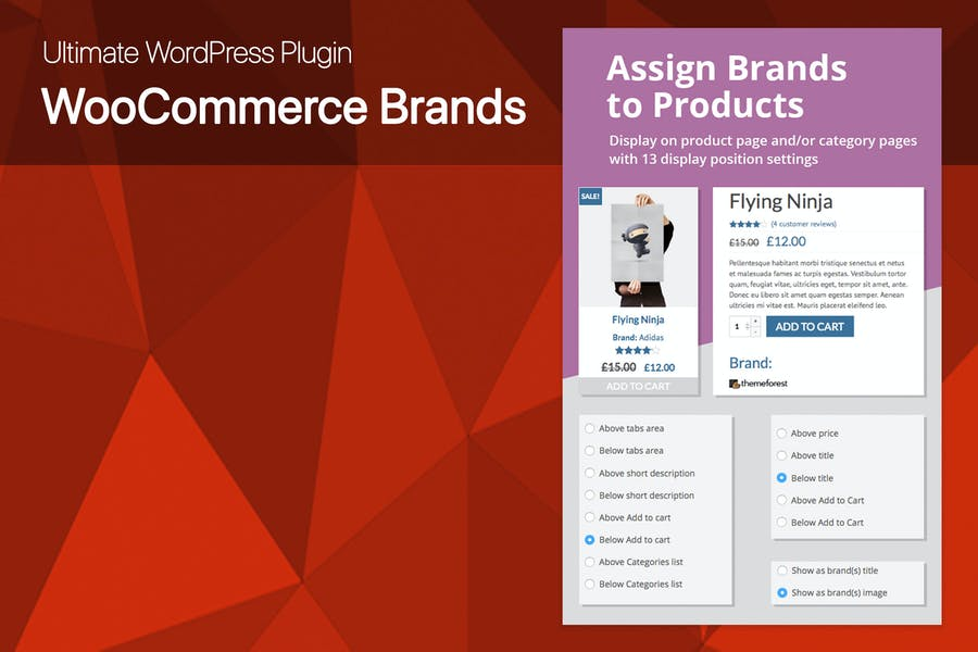 Ultimate WooCommerce Brands Plugin