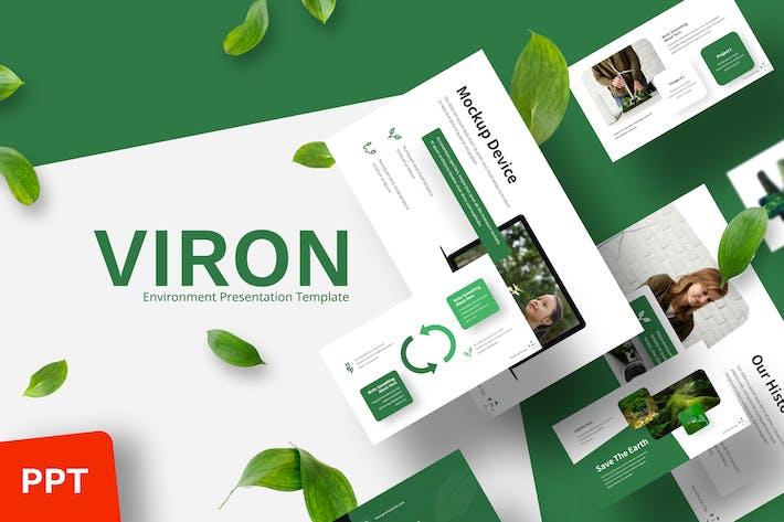 Viron - Шаблон Powerpoint среды
