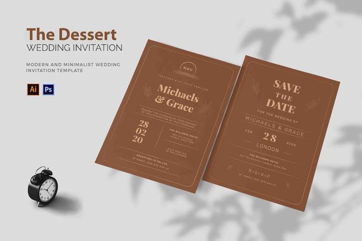 Thumbnail for Desert Theme - Wedding Invitation
