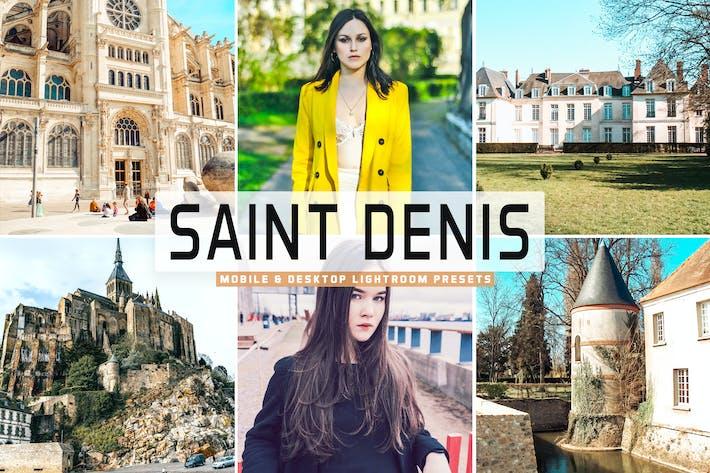 Thumbnail for Saint Denis Mobile & Desktop Lightroom Presets