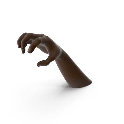 Hand Black Object Grip Pose