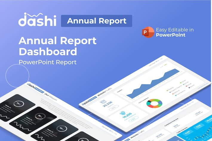Thumbnail for dashi Annual Report Presentation PPT
