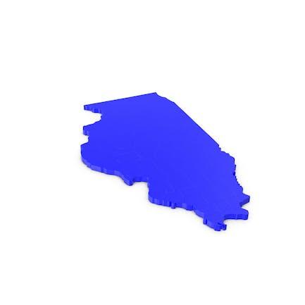 Карта графств Иллинойс