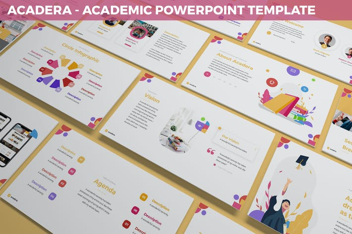 Thumbnail for Acadera - Academic Powerpoint Template
