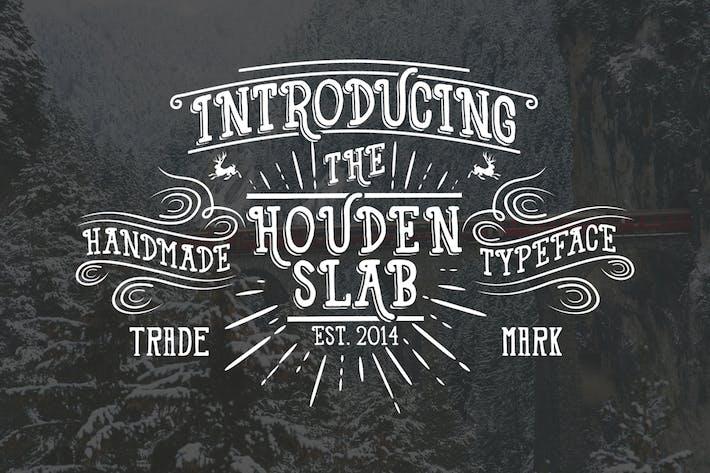 Thumbnail for Houden Font