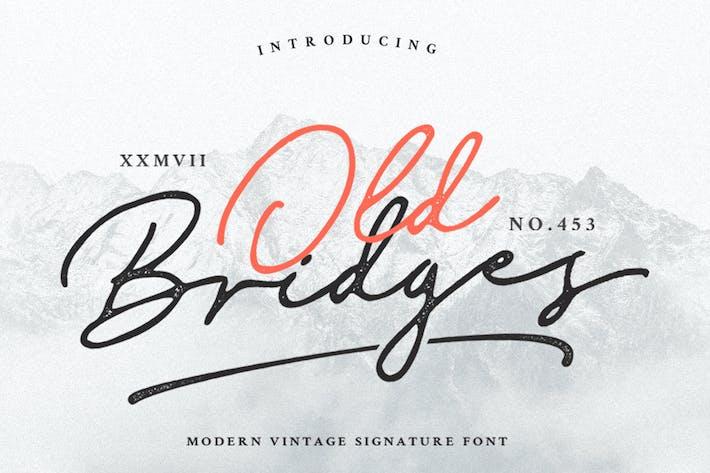 Thumbnail for Old Bridges Vintage Script