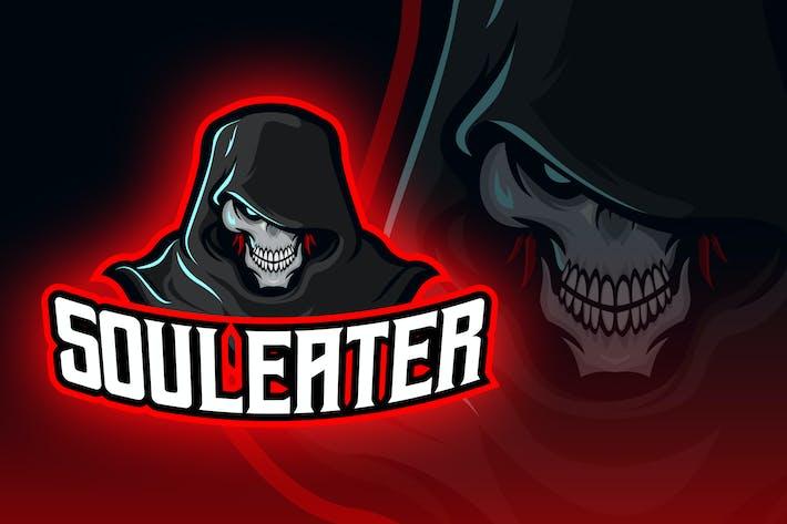Thumbnail for Soul Eater Grim Reaper Esport Logo