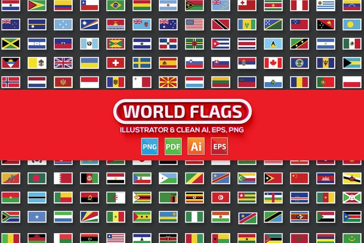 Thumbnail for World Flags Design