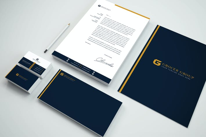 Thumbnail for Luxury Branding Identity & Stationery Pack