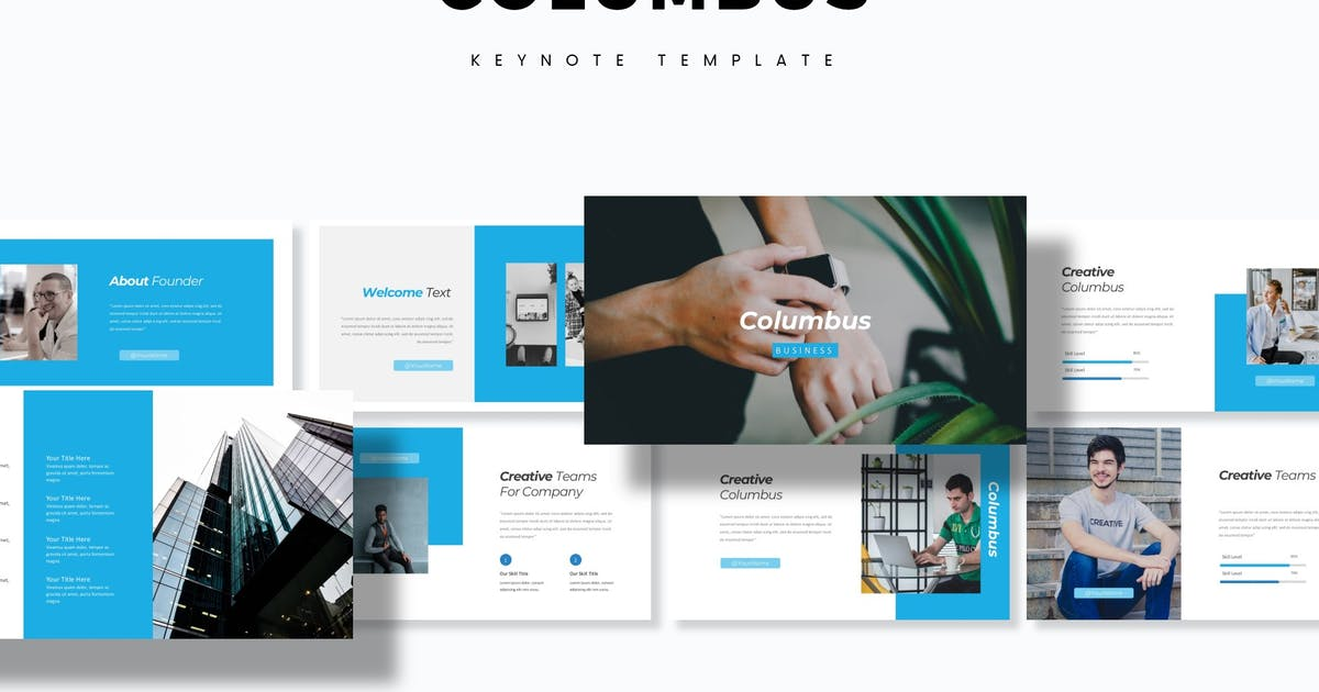 Download Columbus - Keynote Template by aqrstudio
