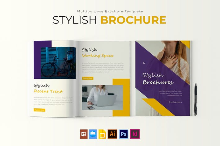 Thumbnail for Stylish | Brochure Template