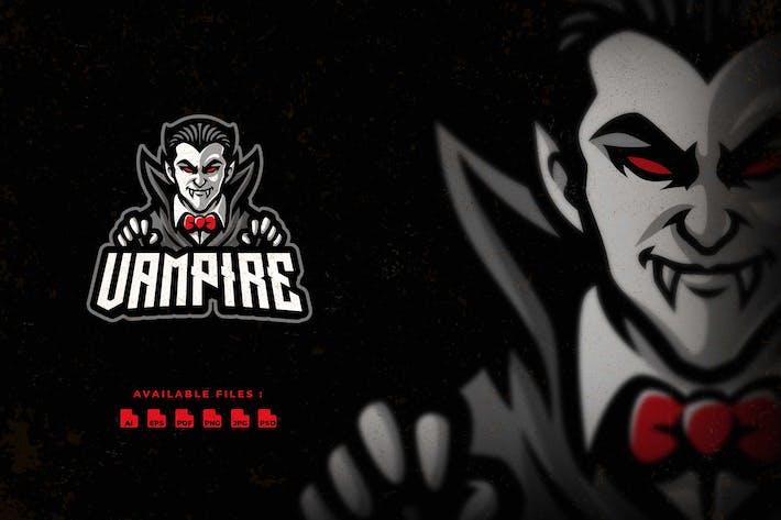 Thumbnail for Логотип героя вампира