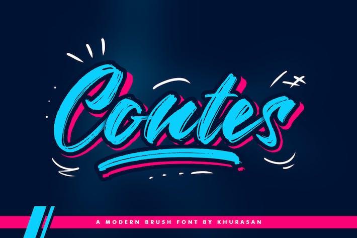 Thumbnail for Fuente de pincel Contes