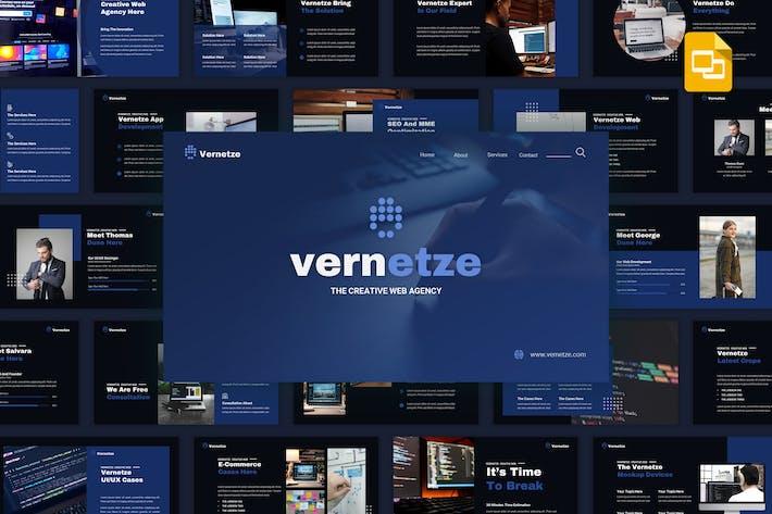 Thumbnail for Vernetze - Creative Web Agency Google Slides