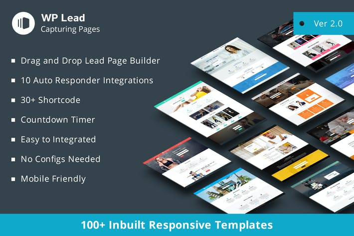 Cover Image For WP Lead Capturing Pages - WordPress Plugin