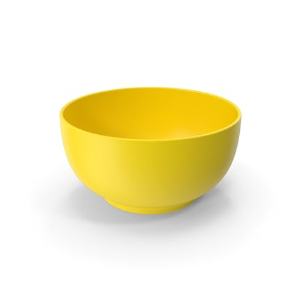Food Bowl Yellow
