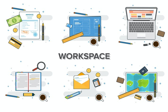 Thumbnail for Workspace Linear Mockup