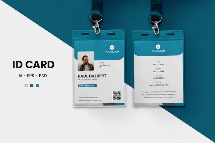 Simple ID Card