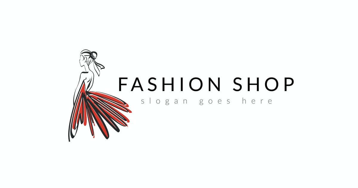 Download Fashion Woman Modern Logo by Slidehack
