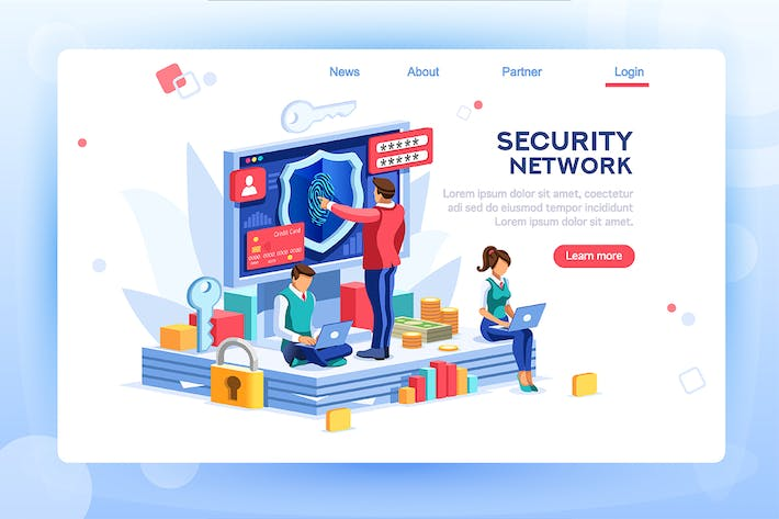 Thumbnail for Security Concept  Network Law Code