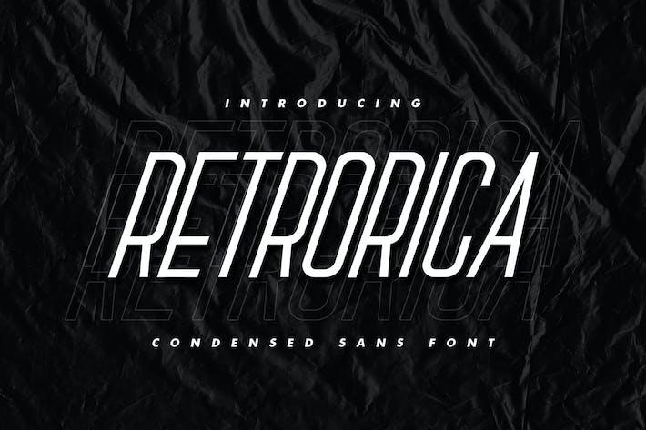 Thumbnail for Retrorica - Sans condensé
