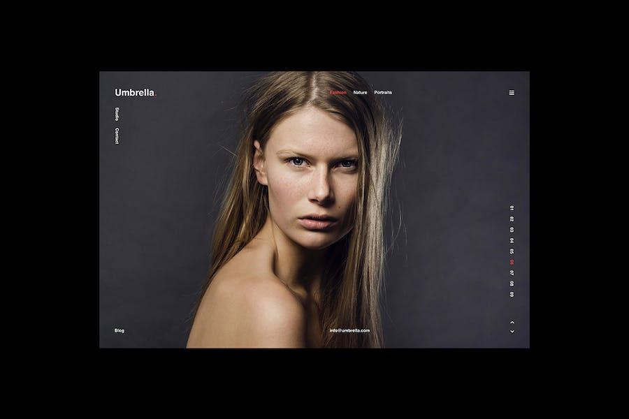 Umbrella – Photography HTML Template