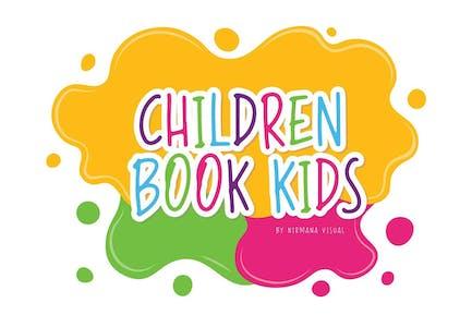 Children Book Kids - Cute Font