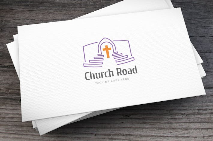 Thumbnail for Church Road Logo Template