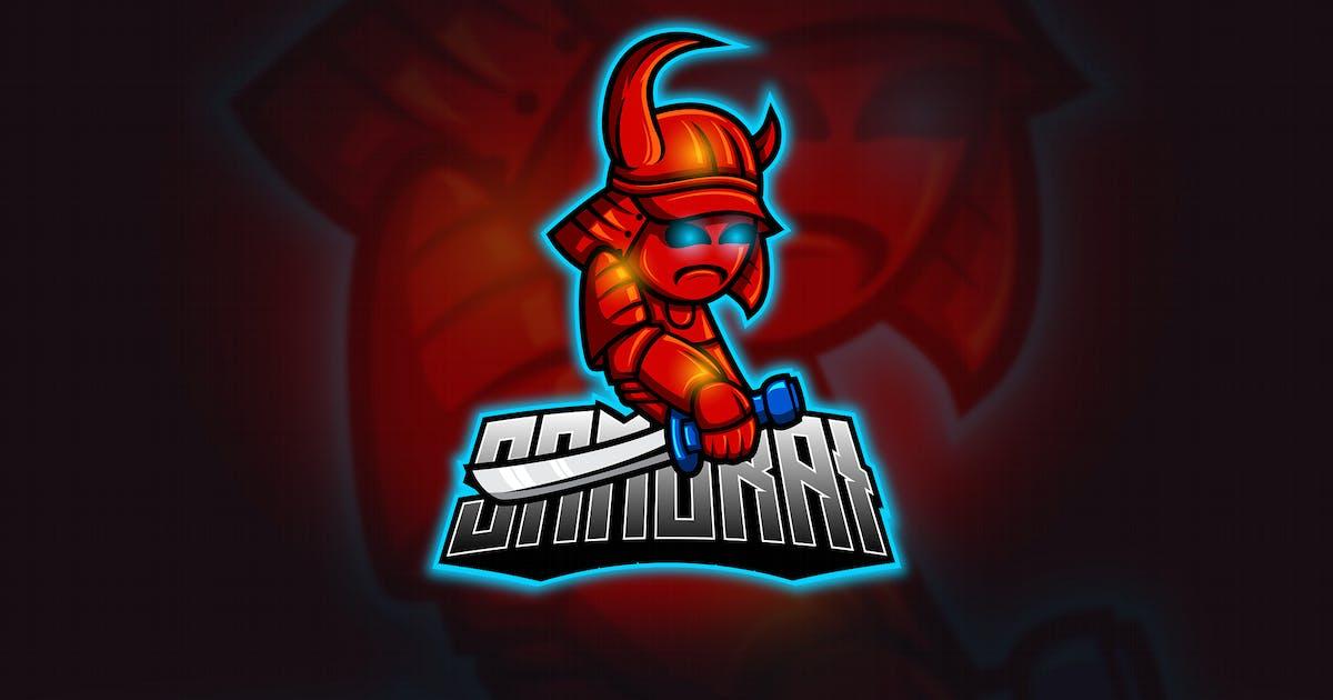 Download Samurai - Mascot & Esport Logo by aqrstudio