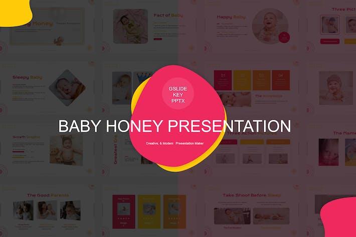 Thumbnail for Шаблон представления младенца меда