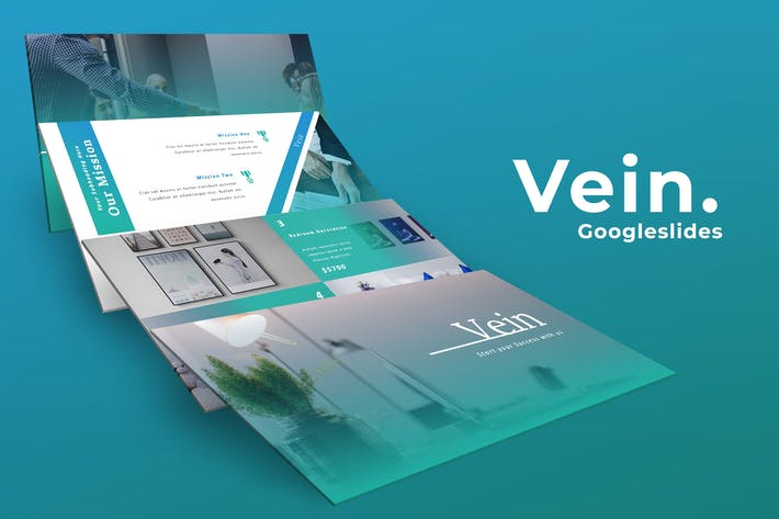 Thumbnail for Vein Business Google Slides Presentation